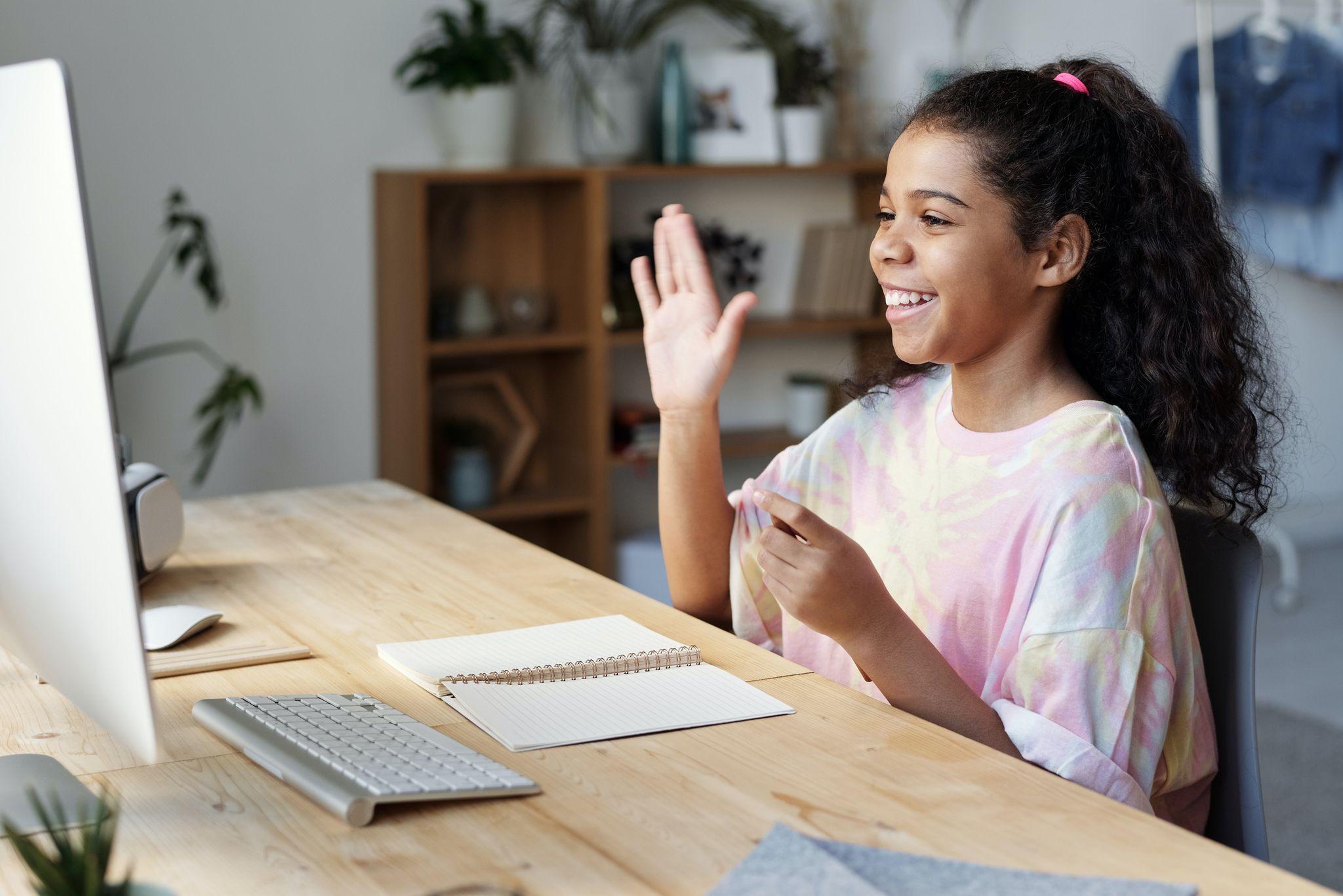 遠距教學系統能讓學生能進行即時發問